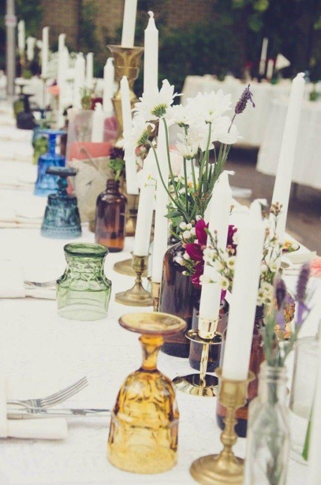 Bohemian aankleding tafel