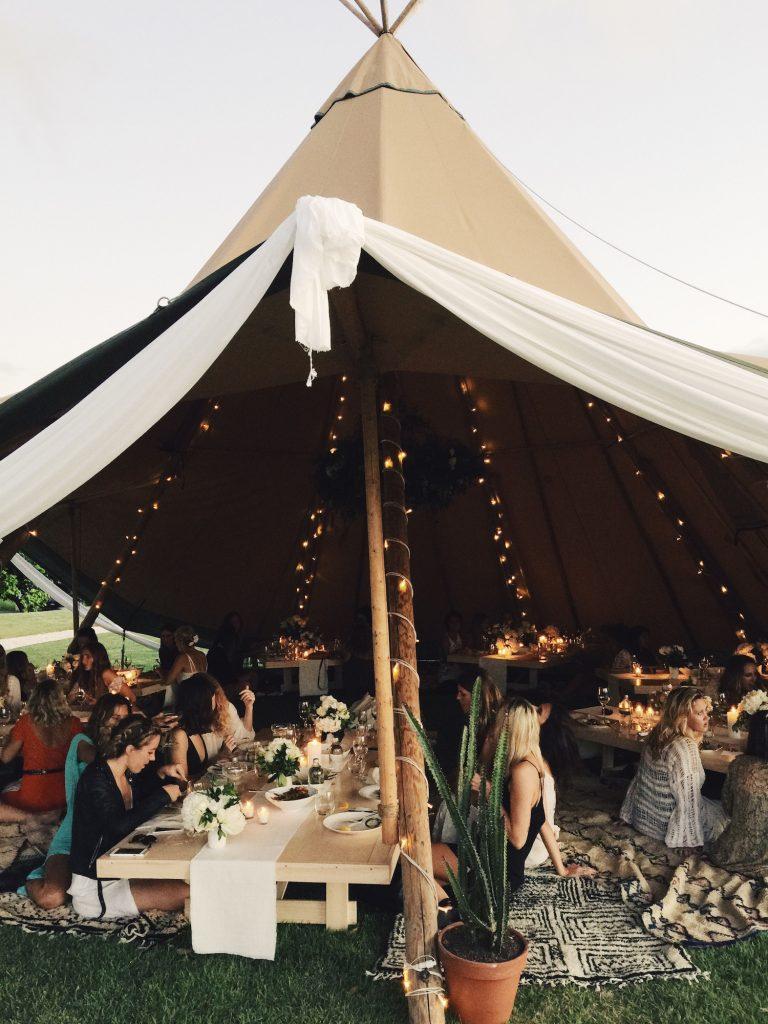 Bohemian tent van Lunaworx