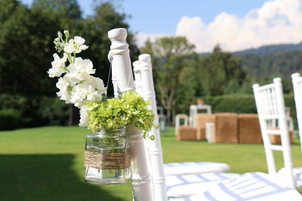 DIY bruiloft bloemen