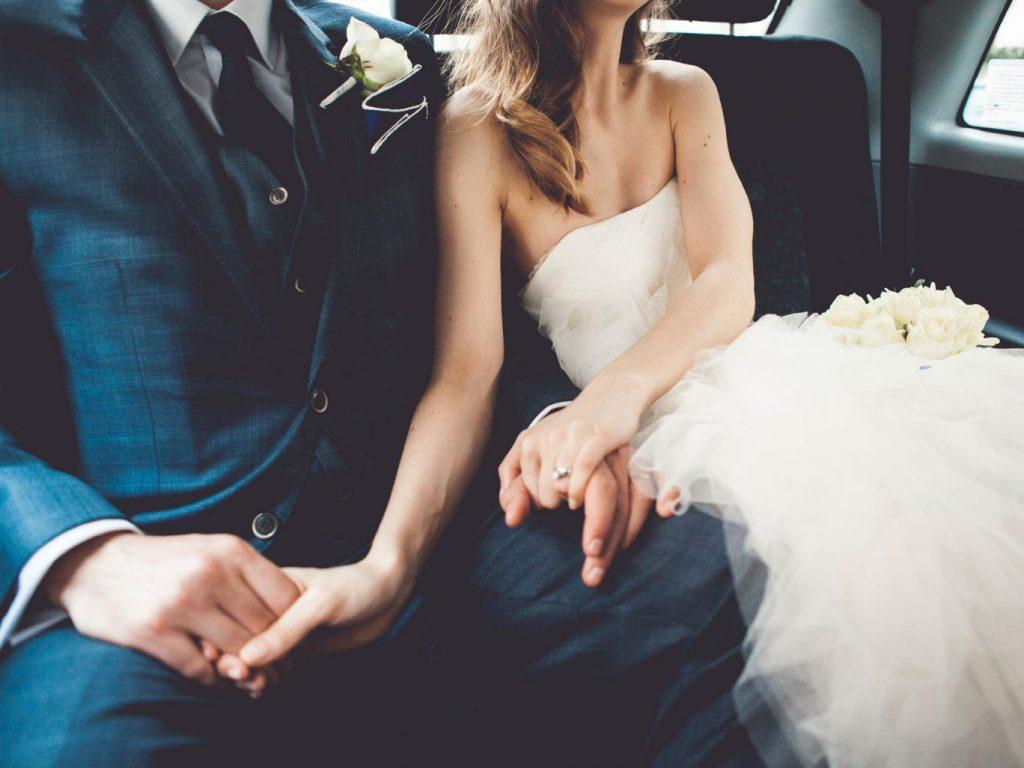 Vervoer naar bruiloft