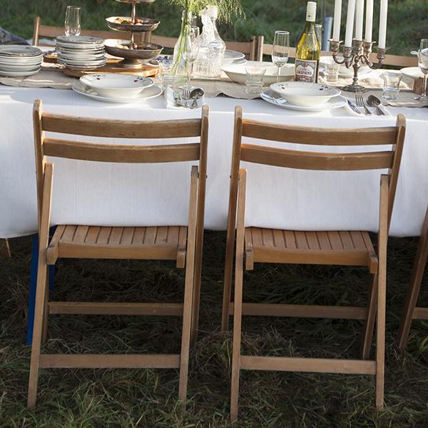 houten klapstoeltje