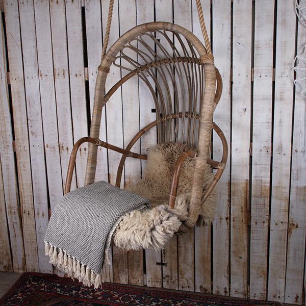 Hoe Maak Je Een Hangstoel.Rotan Hangstoel Lunaworx