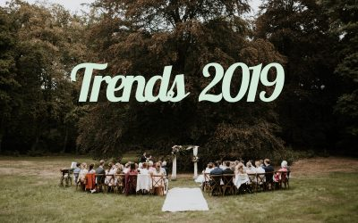 De trouwtrends van 2019