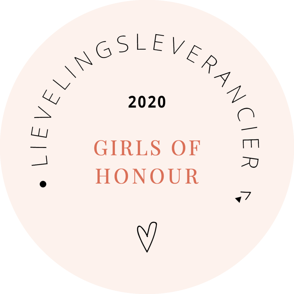Lievelingsleverancier Girls of honour 2020